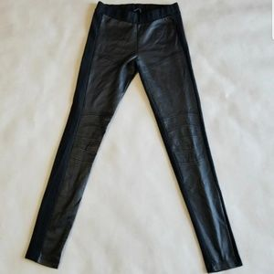 Zara w&b Collection biker leggings